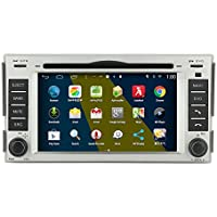 Rupse 6.2inch Android Car DVD GPS Navigation Radio Display +BT Music/Hands-free/SWC/HD/2DIN For 2007-2011 Hyundai Santa fe Without Facroty Nav.