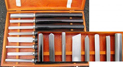 Hobby Drechselmesser Set 8-teilig Drechseleisen für Drechselbank Drechselbeitel