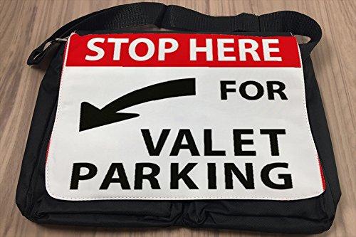 Borsa Tracolla Garage Servizio parcheggio Stampato