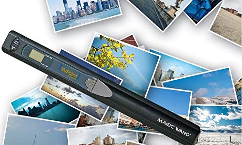 VuPoint Magic Wand Portable Scanner PDS-ST415-VPS-CR
