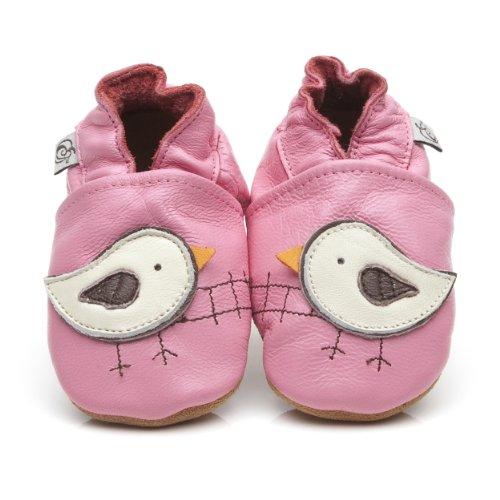 Suaves Zapatos De Cuero Del Bebé Pájaro 18-24 meses