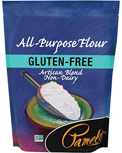 Pamela's Products Gluten Free All Purpose Flour Blend, 4 Pound (No Wheat Flour)