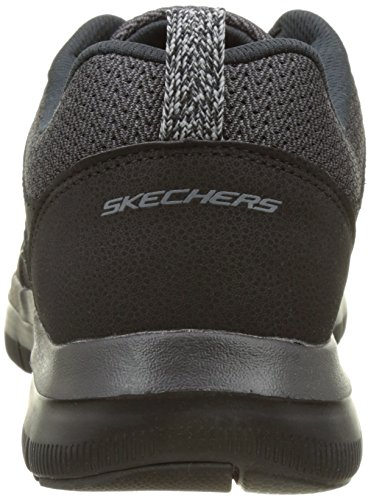 Skechers Herren Flex Advantage 2.0 Outdoor Fitnessschuhe Schwarz (Bbk)