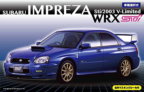 2018 Wrx Sti - 1/24 Inch up Series No.103 Subaru Impreza WRX Sti / 2003 V-limited