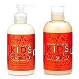 Shea Moisture Mango & Carrot Kids Shampoo and Conditioner Set by Sundial Brands