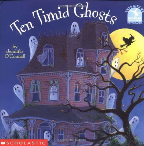 Ten Timid Ghosts (Read With Me Paperbacks) -