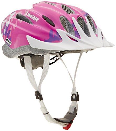 Limar 515 Youth M50-56 Helmet, Pink/Sunflower