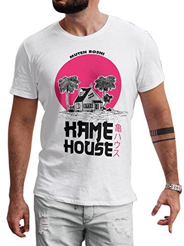 LeRage Dragon Ball Shirt Fan Made Kame House