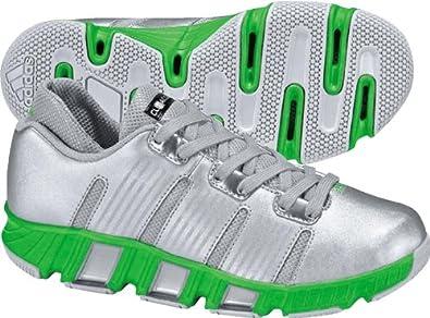 new concept d71d6 554a7 adidas Clima 360 Low Basketball Shoe (Toddler),Metallic Silver Intense Green