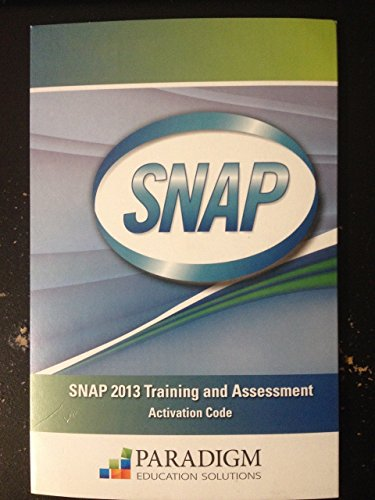Price comparison product image Snap 2013 Training & Assessment Activation Code