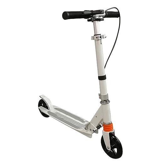 ZSH-Kick Scooter Patinete Plegable para niños con Freno de ...