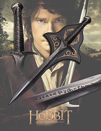 "22"" Frodo's Sting Sword / Lord of the Rings / Hobbit with wood plaque- Frodo's"