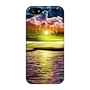 Durable Protector Cases Covers With Sunset Hot Design For Ipod Touch 5