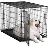 MidWest 1548 iCrate Single-Door Pet Crate 48-By-30-By-33-Inch