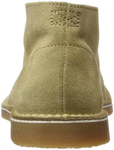Selected Herren Shhroyce New Light Suede Boot Desert Beige (Oyster Gray)