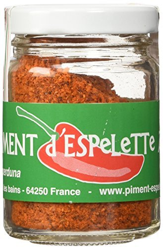 (Piment d'Espelette - Red Chili Pepper Powder from France 1.41oz)
