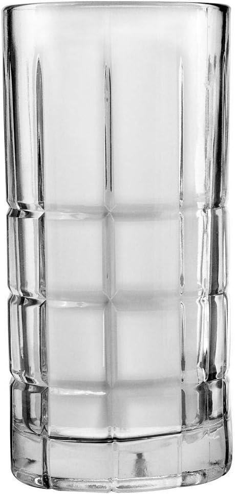 Amazon Com Manchester 16 Oz Iced Tea Glass Set Of 12 Glassware Drinkware