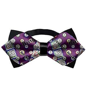 d612a9cd3ba0 Amazon.com: YEAHSPACE Mens silk Bowtie Gift NEW Bingo Bow Ties: Home ...