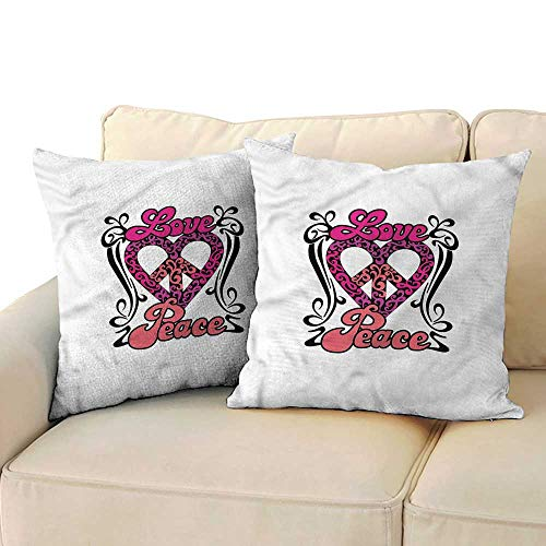 Opus Queen Bed - Ediyuneth Pillowcases Queen Groovy,Words in a Swirly Border 18