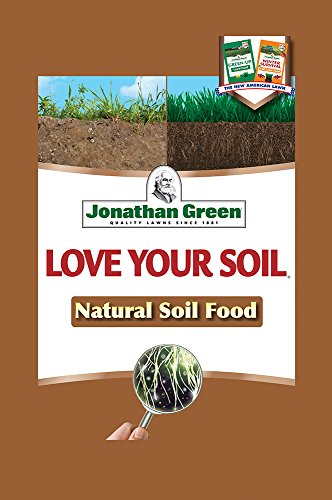 Soil Fertilizers Organic (Jonathan Green 12192 Coverage Love Your Soil, 1,000 sq. ft, Natural Organic)