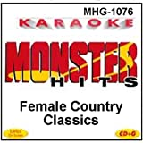Monster Hits Karaoke #1076 - Female Country Classics