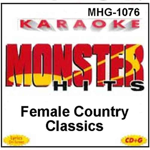 Monster Hits Karaoke #1076 - Female Country Classics ()