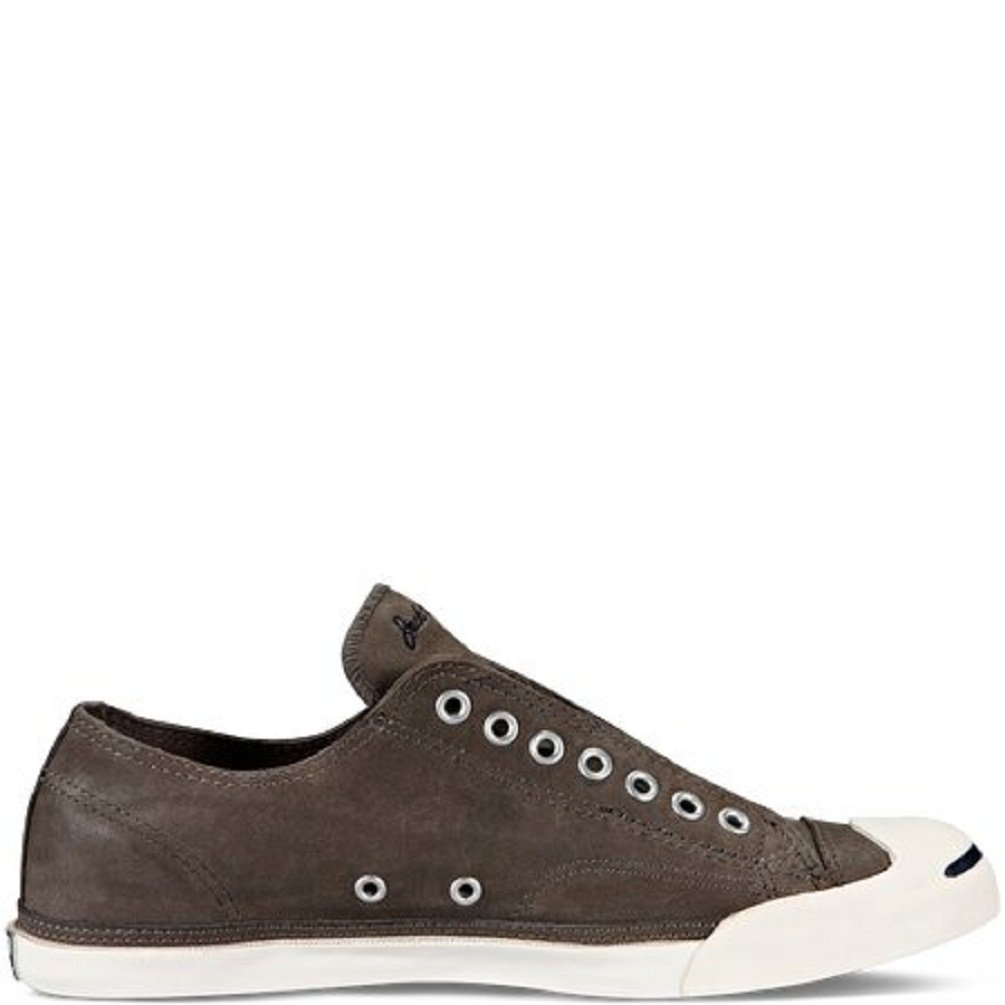 b33d896da18522 Converse Jack Purcell Low Profile Leather Sneakers Grey 139804C  Amazon.ca   Shoes   Handbags