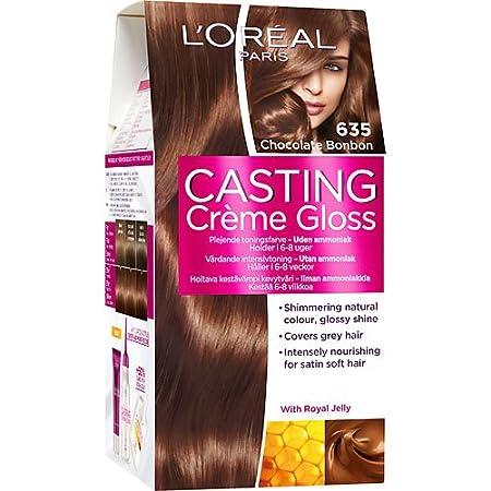 casting hårfarve