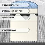 Serta 14-inch Gel-Memory Foam Mattress, King