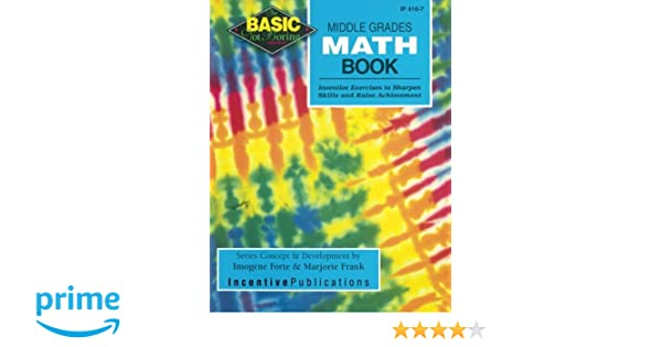 Amazon.com: Middle Grades Math Book BASIC/Not Boring: Inventive ...