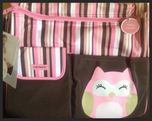 Carters Owl Diaper Tote Bag