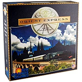Rio Grande Games Orient Express Board Game