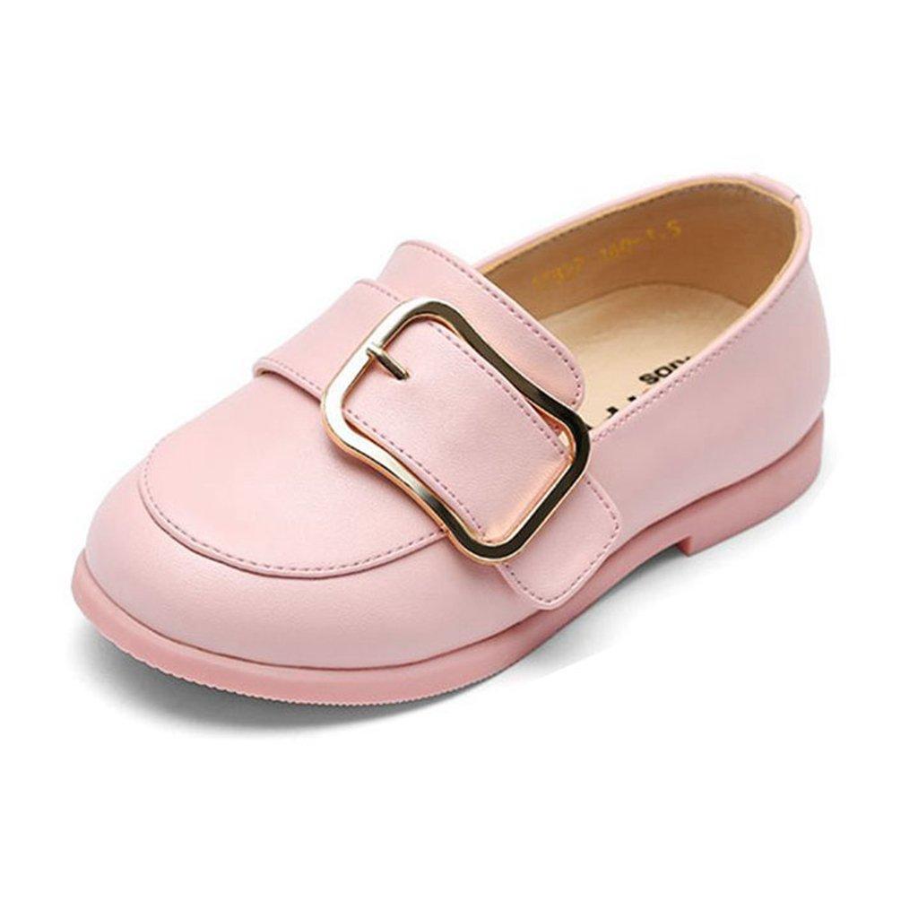 Kids Slip-On Loafers Oxford Dress Soft PU Shoes For Boys Girls(Toddler/Little Kid/Big Kid)