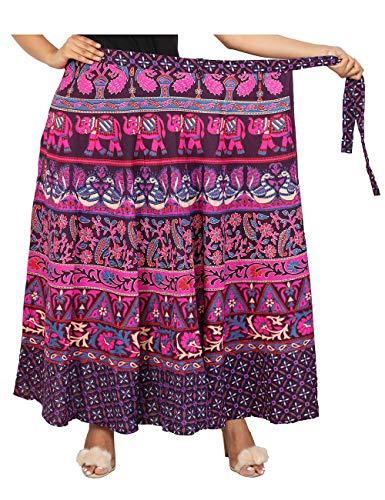 Women Multicolor Printed 12 Cotton Wear Skirts Indian For Mandala Casual Designer vq8xvwXPz
