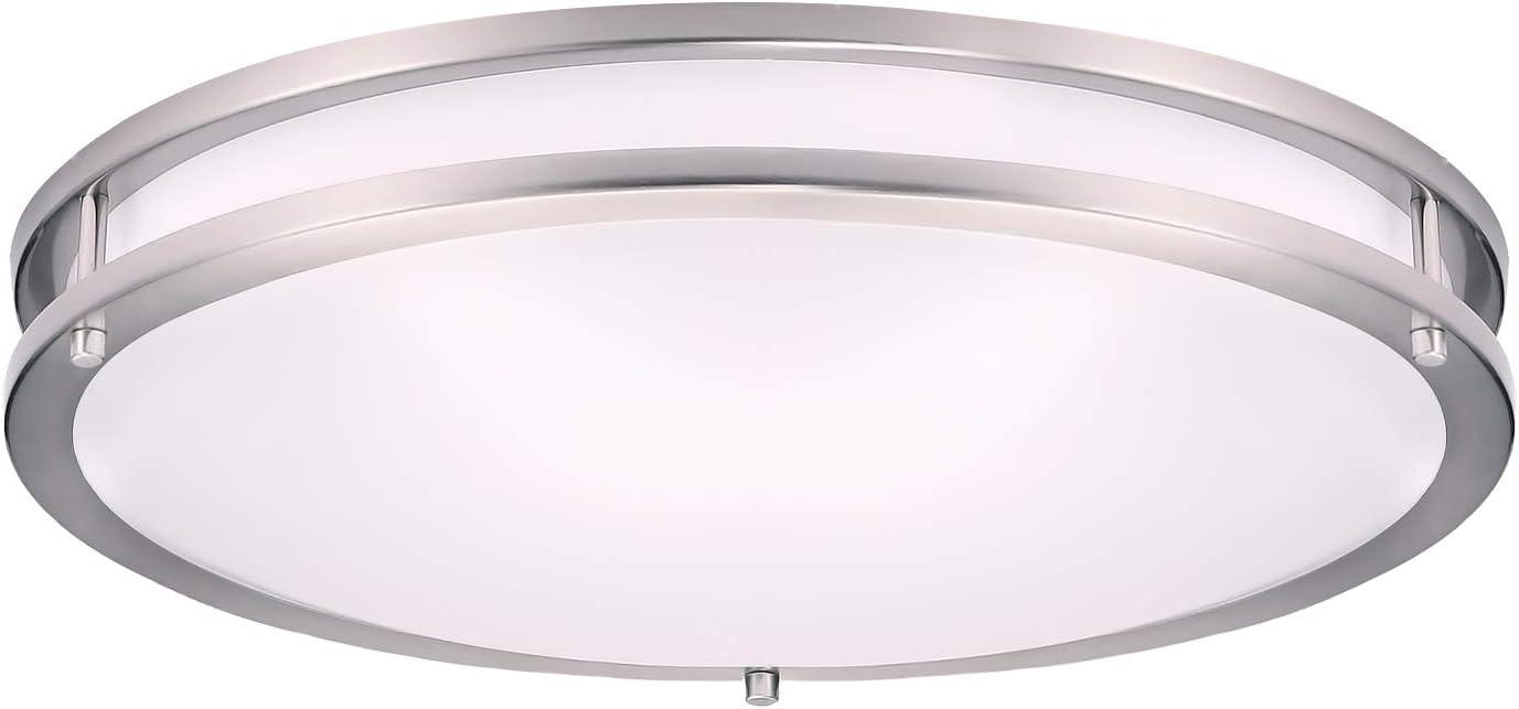 36W-100W LED Ceiling Down Light Bedroom Kitchen Living Panel Lamp White Cover