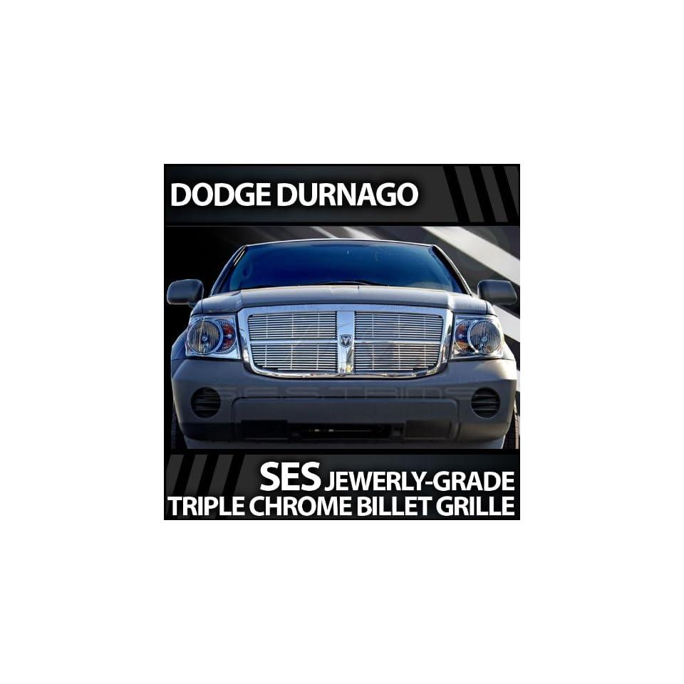 2007 2011 Dodge Durango SES Chrome Billet Grille Automotive