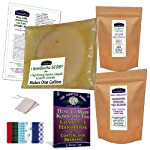 Brew Now KOMBUCHA KAMP MUSHROOM KIT (incl. 1 LRG SCOBY + 1 Cup Start Liquid & Complete pdf Handbook) 8 Includes 1 Large SCOBY plus 1 Cup Strong Starter Liquid - Makes 1 Gallon FULL SUPPORT via Forums, Facebook or E-mail as well as our DIY Guide & Tips GUARANTEED to brew a LIFETIME SUPPLY of delicious, inexpensive Kombucha if properly cared for