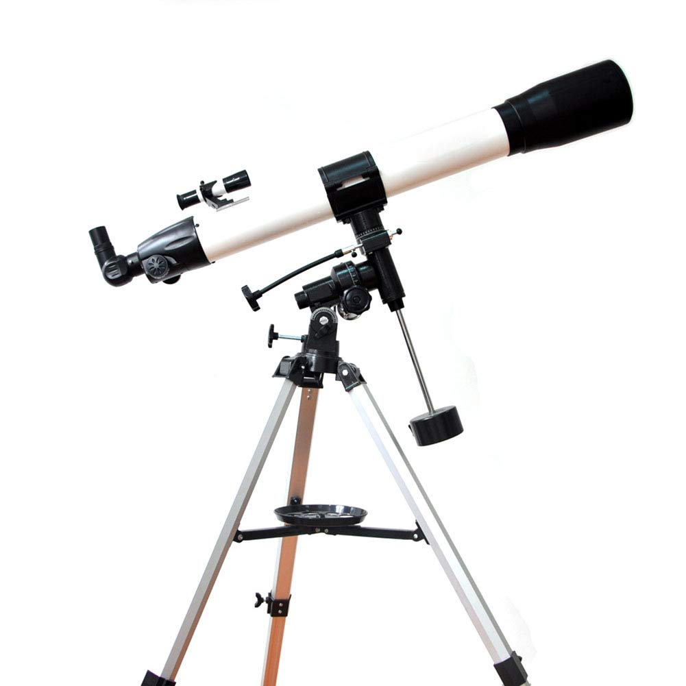 Astronomical Telescope, Equatorial Mount, High-Definition Telescope, Suitable for Children, Beginners, Travel, Watching The Moon, Scenery, Gifts by TJSCY