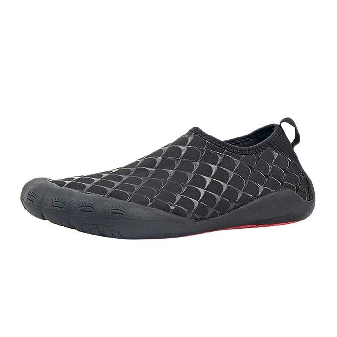 Zapatos Hombre Casuales ❤ Absolute Zapatillas de natación para Hombres Calcetines de Secado rápido para Hombre Zapatillas de Playa al Aire Libre Descalzo ...