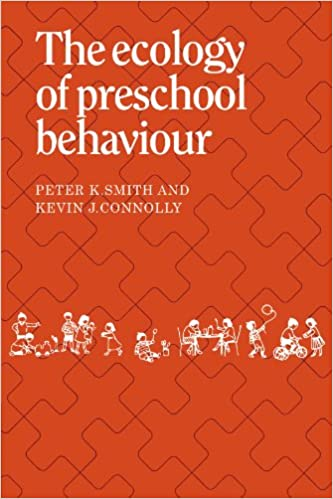 Book The Ecology of Preschool Behaviour