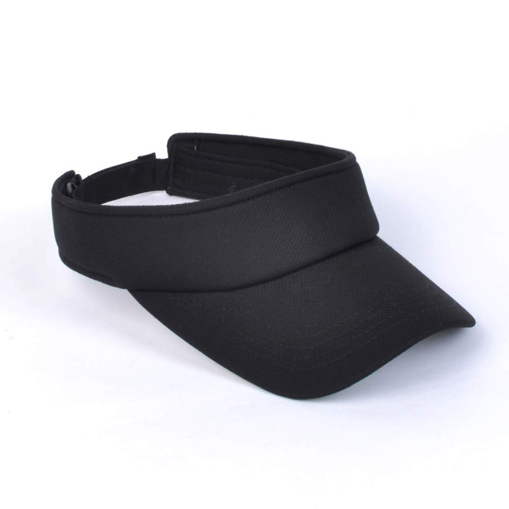 Colorful Sport Cap Outdoor Sun Protection Adjustable Velcro Visor for Men Women