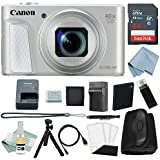Canon Powershot SX730 HS Bundle (Silver) + Canon SX730 HS Deluxe Accessory Kit - Including EVERYTHING You Need To Get Started