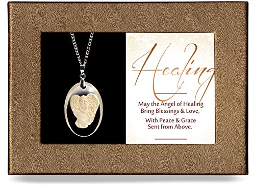 Angel Star Necklace - Angelstar 16128 Healing Gift-Boxed Pendant
