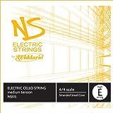 D\'Addario NS Electric Cello Single High E String, 4/4 Scale, Medium Tension