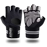 SIMARI Workout Gloves for Women Men,Training Gloves with Wrist Support for Fitness Exercise Weight Lifting Gym Crossfit,Made of Microfiber and Lycra SMRG902
