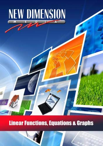 Linear Functions, Equations & Graphs