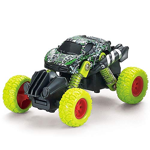 MANIINI Pull Back Cars Toys, Pull Back Vehicles Monster Trucks for Kids Off-Road Die-cast, Inertia Car Toy for Boys Girls Toddler Gifts Camouflage Series - -