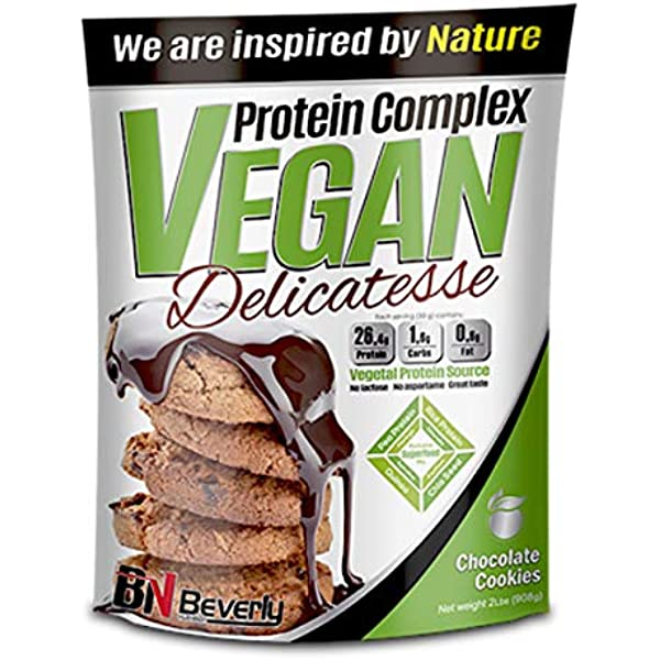Beverly Nutrition Vegan Protein Delicatesse, Choco Cookies ...