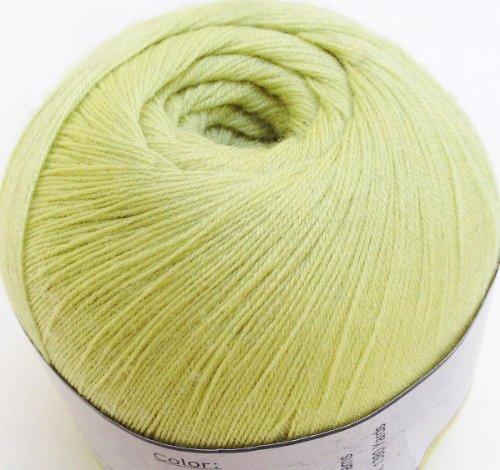 - Yarn Place Gentle Luxurious Lace Yarn Cashmere Merino Blend (50g, Soft Sage 2104)