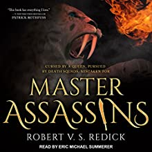 Master Assassins: Fire Sacraments Series, Book 1 Audiobook by Robert V.S. Redick Narrated by Eric Michael Summerer